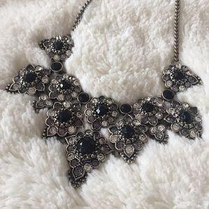 Beautiful black statement necklace from ZARA